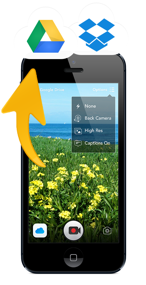 UploadCam | Camera App for Dropbox and Google Drive